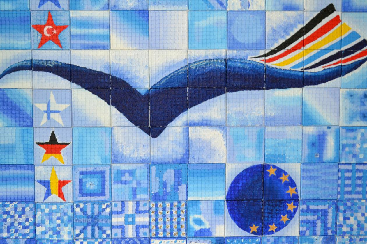 "Europäisches Projekt ""Comenius"" gestaltet Quadratologo"