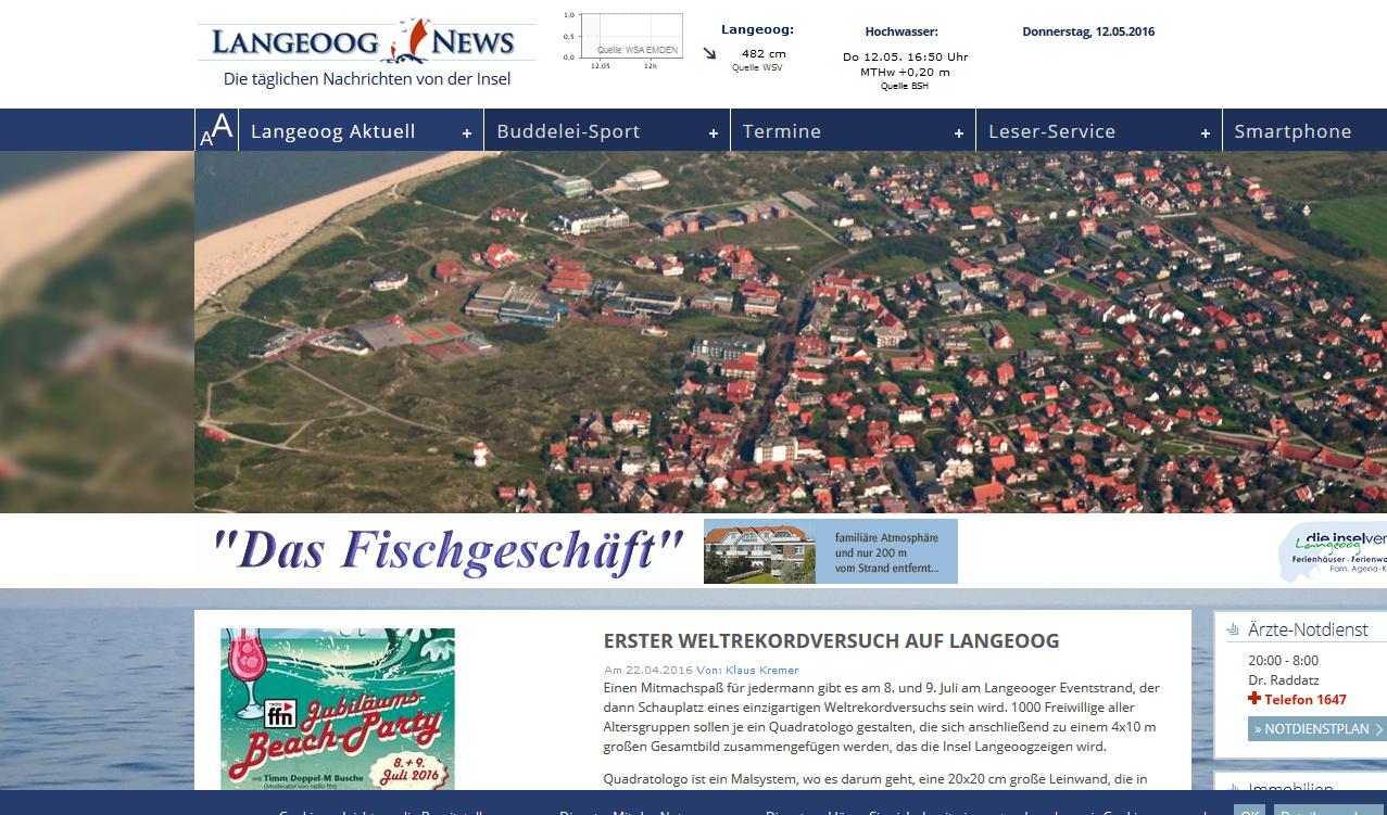 Toller Beitrag in der Langeoog News